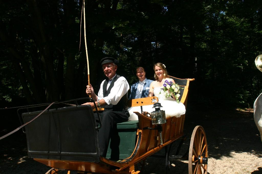 Boerenwagen trouw huren bruiloft Detzkyhoeve Soest Amersfoort Baarn