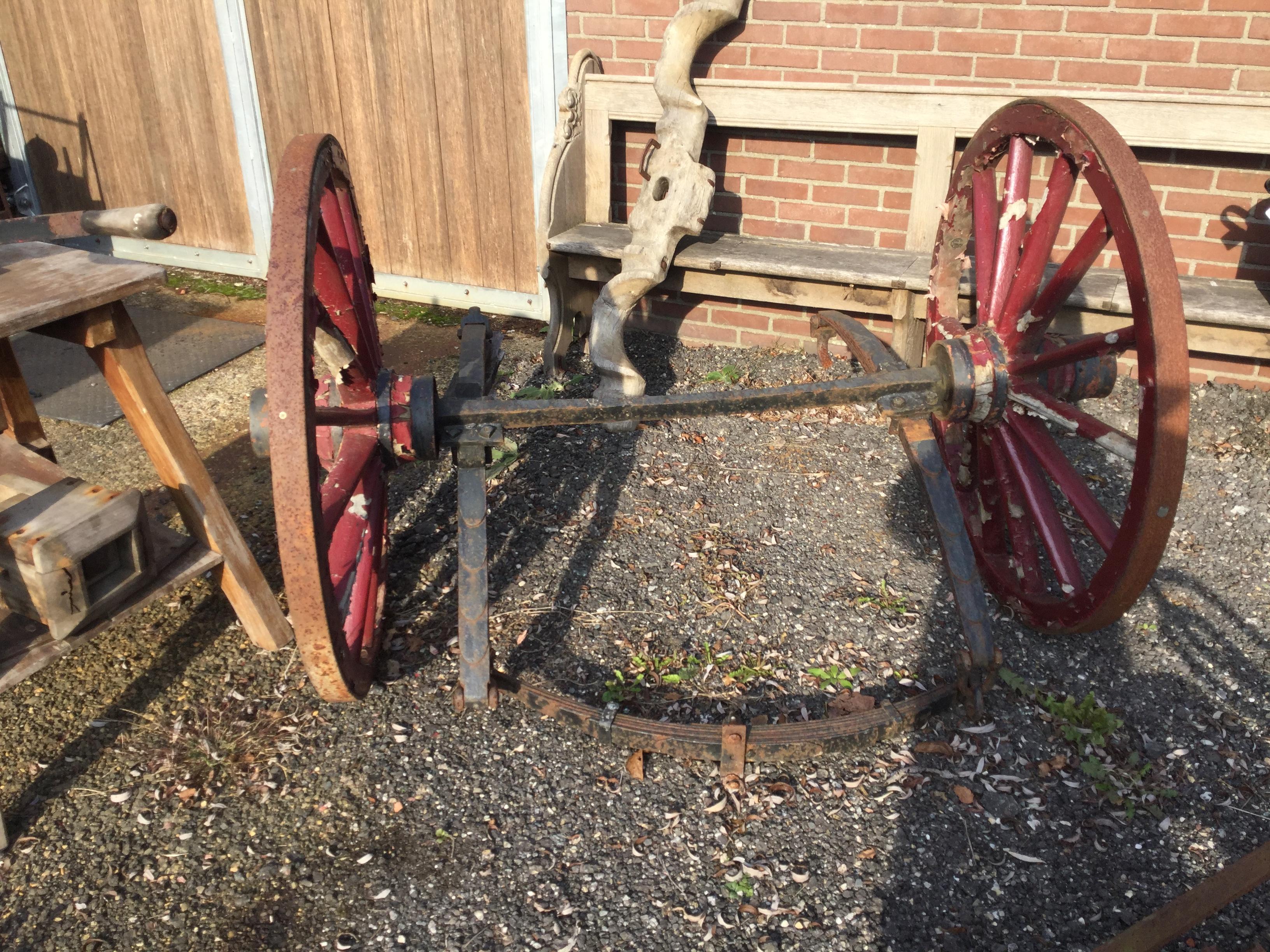 Onderstel 2-wieler te koop Soest